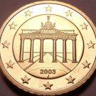 Cameo Proof Germany 2003-J 10 Euro Cents~Hamburg Mint~Cameo~Free Shipping~