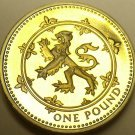 Gem Cameo Proof Great Britain 1994 Pound~Rampant Lion~We Have Pound Coins~Fr/Shi