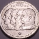 Silver Belgium 1950 100 Francs~We Have Silver Coins~Free Shipping