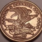 Huge America We The People Massive Medallion~Eagle~Free Shipping