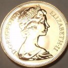 Proof Great Britain 1976 2 Pence~Welsh Plume~100,000 Minted~Excellent~Free Ship