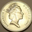 Cameo Proof Great Britain 1995 10 New Pence~Only 100,000 Minted~Free Shipping