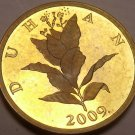 Proof Croatia 2009 10 Lipa~Proofs Are The Mints Best Work~Tobacco Plant~Free Shi