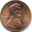 United States Unc 1975-D Lincoln Memorial Cent~Free Shipping