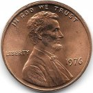 United States Unc 1976-P Lincoln Memorial Cent~Free Shipping
