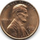 United States Unc 1972-S Lincoln Memorial Cent~Free Shipping