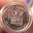 Gem Unc Roll (50 Coins) Venezuela 1990 50 Centimos~Simon Bolivar~Excellent~Fr/Sh