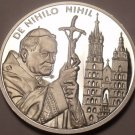 Rare Silver Proof Malta 2004 50 Liras~2,988 Minted~From Nothing, Nothing~Free Sh