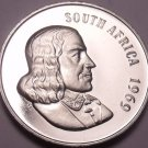 Rare Proof South Africa 1969 10 Cents~Only 12,000 Ever Minted~Aloe Plant~Free Sh