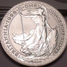 Gem Unc Silver Great Britain 1998 2 Pounds~Exceptional~Mintage 88,909~Free Ship