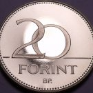 Rare Proof Hungary 2008-BP 20 Forint~Only 4,000 Minted~Hungarian Iris~Free Ship