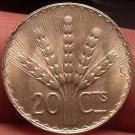 Gem Unc Silver Uruguay 1942-SO 20 Centesimos~Fantastic~Wheat Stalks~Free Ship