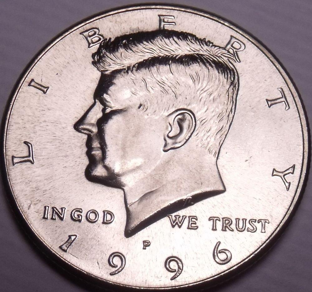 United States Unc 1996-P Kennedy Half Dollar~Free Shipping
