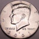 United States Unc 2001-D Kennedy Half Dollar~Free Shipping
