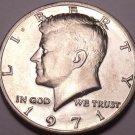 United States Unc 1971-P Kennedy Half Dollar~Free Shipping