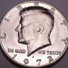 United States Unc 1972-D Kennedy Half Dollar~Free Shipping