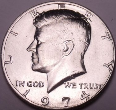 United States Unc 1974-P Kennedy Half Dollar~Free Shipping