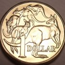 Gem Unc Australia 1984 Dollar~Mob Of Roo's~1st Year Ever Minted~Free Shipping