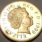 Cameo Proof Great Britain 1999 2-Pence~Only 79,401 Ever Minted~Excellent~Fr/Ship