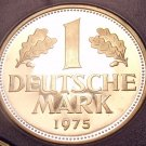 Cameo Proof Germany 1975-F Mark~Minted In Stuttgart~43,000 Minted~Free Shi