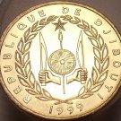 Exremely Rare Gem Unc Djibouti 1999-A 10 Francs~Only 1,800 Minted~Free Shipping