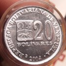 Gem Unc Roll (40 Coins) Venezuela 2004 20 Bolivares~Simon Bolivar~Excellent~Fr/S