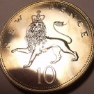 Proof Great Britain 1978 10 Pence~Lion Coin~Only 88,000 Minted~Excellent~Fr/Ship