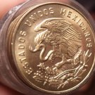 Unc Roll (40) Mexico 1965 5 Centavo Coins~Minted In Mexico City~Free Shipping