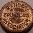 National Smokers Association Membership #1754 Medal~Free Shipping