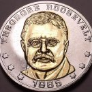 Historic Mint Double Eagle Teddy Roosevelt Commemorative Medallion~Free Shipping