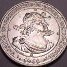 Gem Unc Silver Portugal 1968 50 Escudos~500th Anniv Of The Birth Of Cabral~Fr/Sh