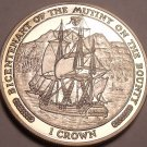 Gem Unc Isle Of Man 1989 Crown~Mutiny On The Bounty~H.M.S Bounty~Free Shipping
