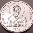 Gem Unc Nagorno-Karabakh 2004 Dram~Saint Gregory~Only Year Ever~Free Shipping