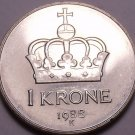 Gem Unc Norway 1988 Krone~Olav V~Excellent~Free Shipping*