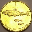 Unc Slovenia 2001 Tolar~School Of Brown Trout~Free Shipping*
