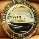 Proof Somalia 1998 25 Shillings~The Titanic~Multicolored~Free Shiping
