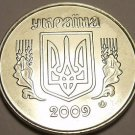 Gem Unc Ukraine 2009 5 Kopiyka~Stainless Steel~Free Shipping