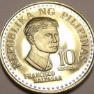 Rare Proof Philippines 1976 10 Sentimos~Only 9,901 Minted~Bank Seal~Free Ship