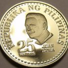 Rare Proof Philippines 1976 25 Sentimos~Only 9,981 Minted~Bank Seal~Free Ship