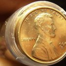 Unc Roll (50) United States 1969-S Lincoln Memorial Cents~Free Shipping
