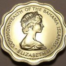 Rare Gem Unc Bahamas 1971 10 Cents~Bone Fish~Only 13,000 Minted~Free Shipping