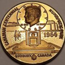 1964 Numismatic Park Canadian Centennial Sudbery Proof Medallion~Free Shipping