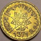Gem Unc Morocco AH-1371 (1952) 10 Francs~Excellent~Free Shipping
