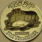 Gem Unc Phil Tice Mary Meyers Can Do Bus Louisville Kentucky Medallion~Free Ship