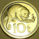 Extremely Rare Proof Papua New Guinea 1979 10 Toea~Cuscus~2,728 Minted~Free Ship