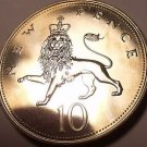 Scarce Proof Great Britain 1974 10 Pence~Crowned Lion~100,000 Minted~Free Ship