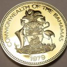 Rare Proof Bahamas 1979 5 Cents~Pineapple~Only 2.053 Minted~Awesome~Free Ship