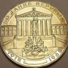 Rare Silver Proof Austria 1968 50 Schilling~Only 39,800 Minted~50th Anniv~Fr/Shi