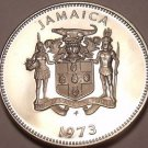Rare Proof Jamaica 1973 10 Cents~Proofs Have Lower Mintages~28,000 Made~Free Shi