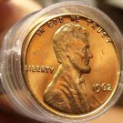Unc Roll (50) United States 1962-P Lincoln Memorial Cents~Free Shipping